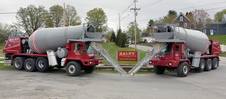 Haley Construction - Maine Concrete and Excavation Company