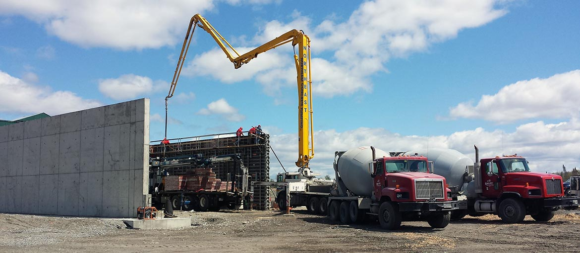 Haley Construction - Maine Concrete and Excavation Company
